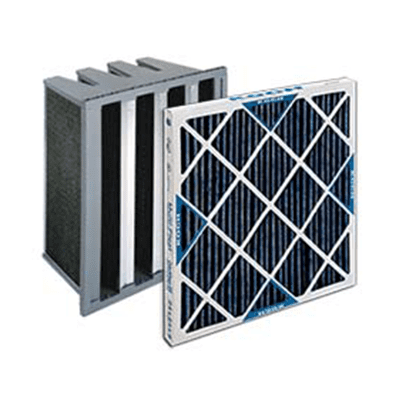 Carbon and gas phase filtration